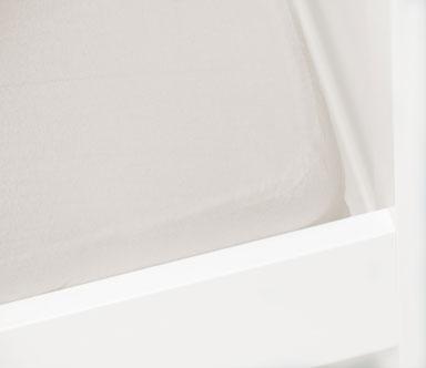 Briljant Hoeslaken Off-White 40x90cm (katoen)