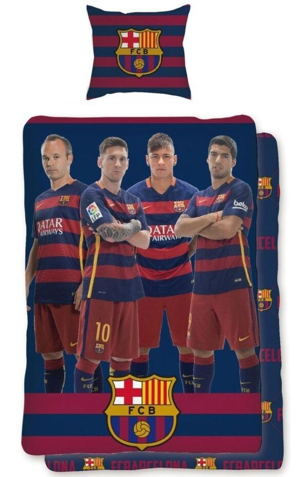 Dekbedovertrek FC Barcelona Spelers