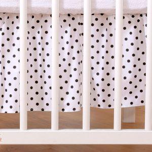 My Sweet Baby Bedrok Dots/Zwart 70x140cm