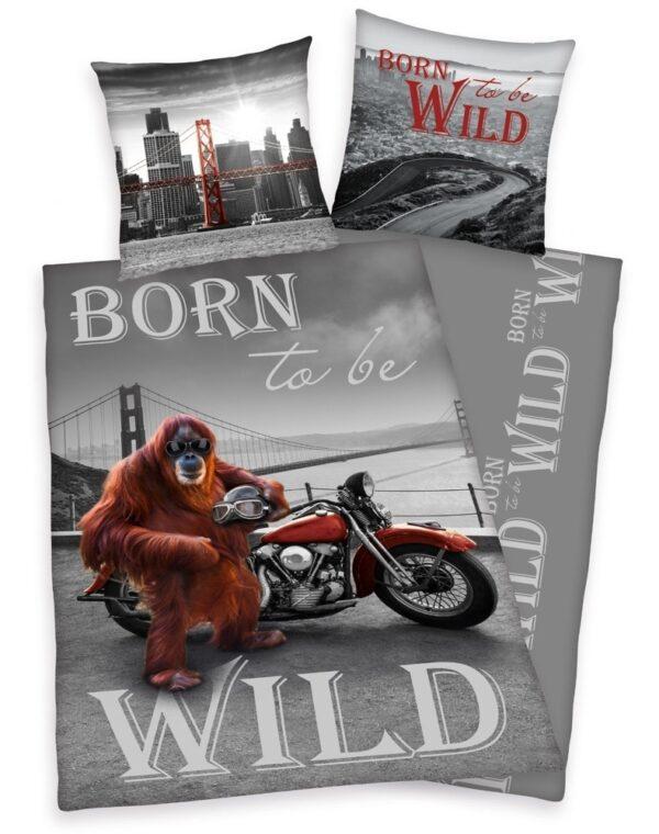 Born to be Wild Dekbedovertrek 140x200cm