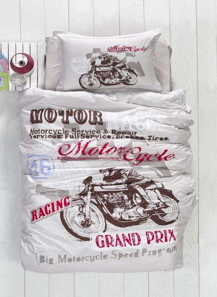 Dekbedovertrek Motor Racing