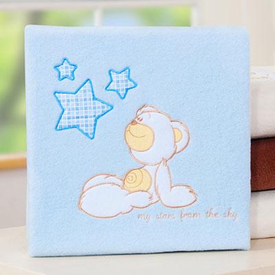 My Sweet Baby Deken 'My Stars' Blauw