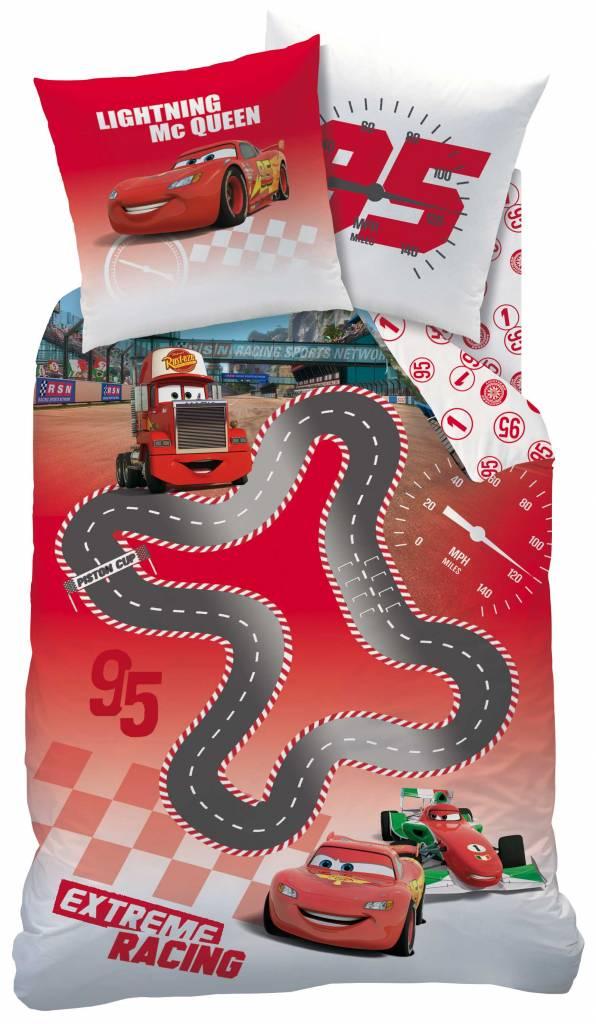 Disney Cars dekbedovertrek Cars Circuit 140x200cm