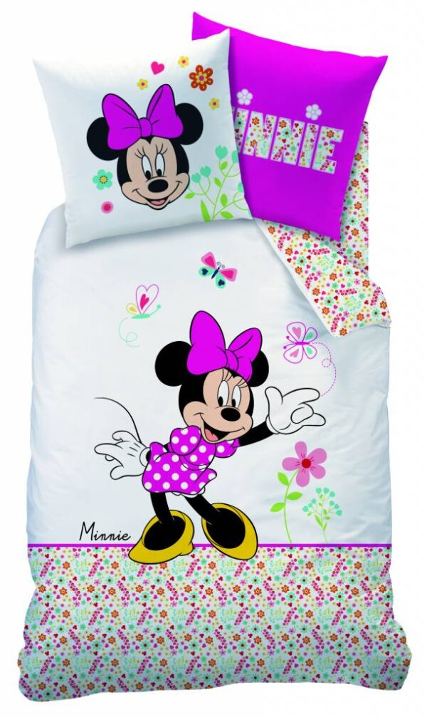 Disney Minnie Mouse dekbedovertrek Liberty 140x200cm