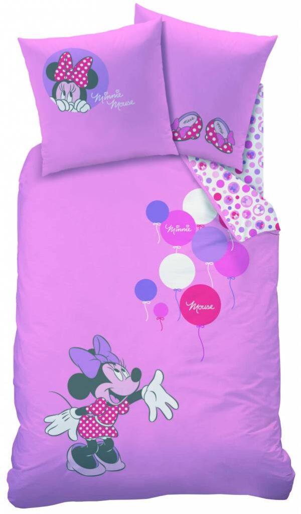 Minnie Mouse flanel Dekbedovertrek Flanel Play 140x200cm