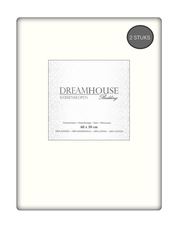Kussenslopen Ecru Dreamhouse (2-stuks)