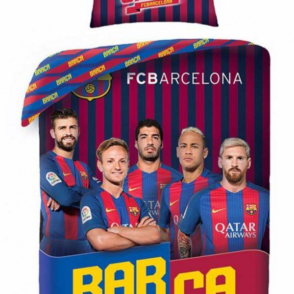 Dekbedovertrek Barcelona Spelers
