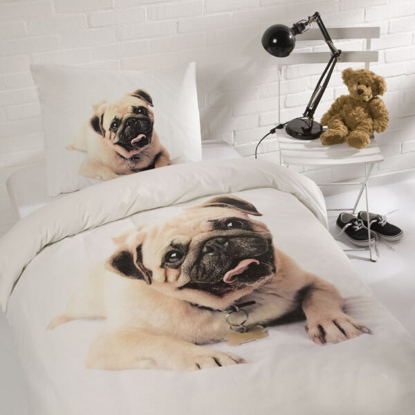Day Dream Dekbedset Pug 'Spike'