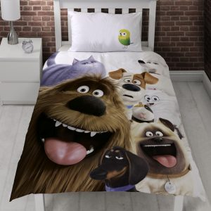 The Secret Life of Pets Dekbedovertrek Mouth