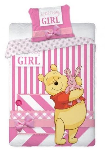 Winnie the Pooh Dekbedovertrekje Girl 100x135cm