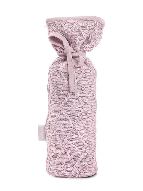 Jollein Kruikenzak Diamond knit vintage pink
