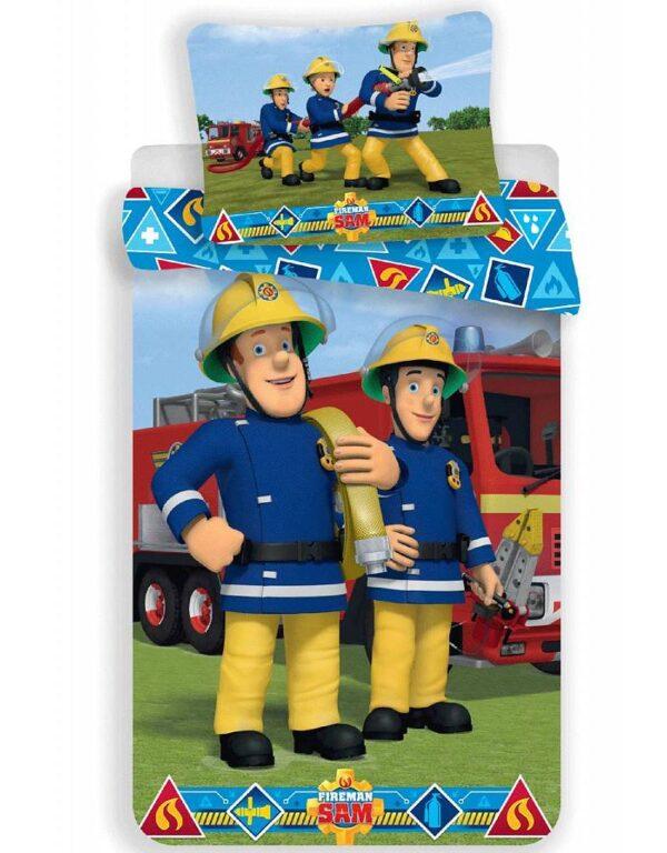 Dekbedovertrek Sam de Brandweerman