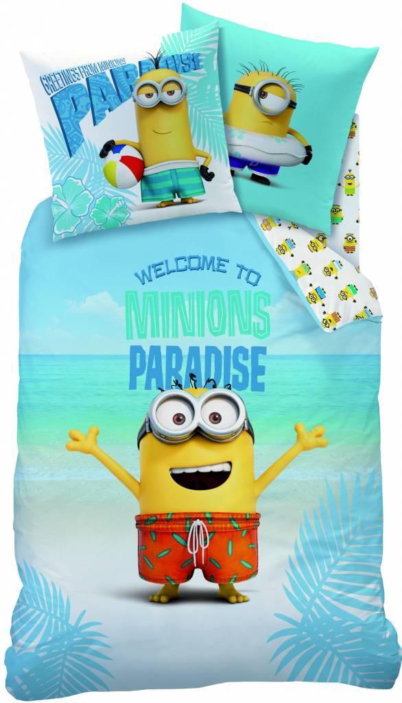 Minions Dekbedovertrek Paradise