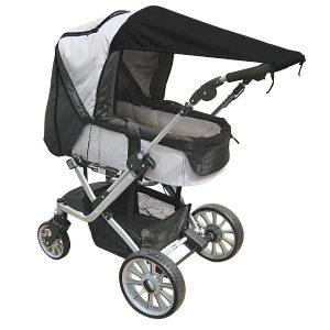 UV Bescherming voor Kinderwagens Zwart