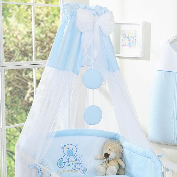 My Sweet Baby Sluier Chiffon Blauw
