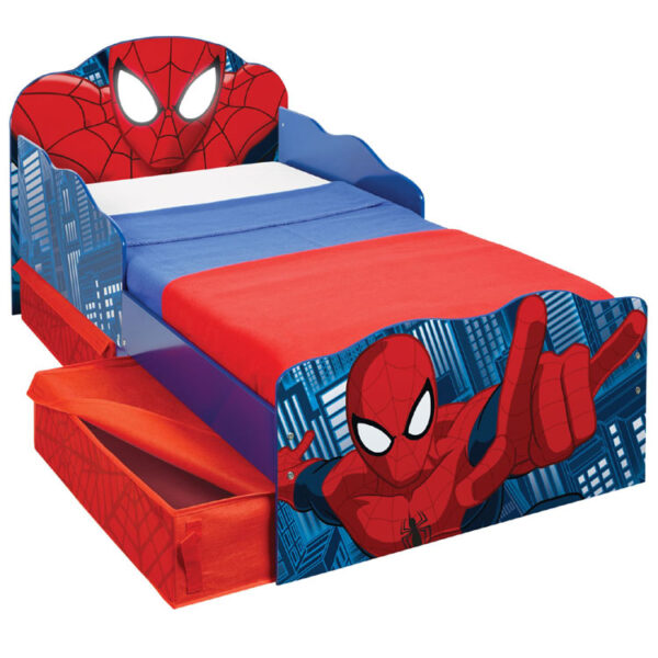 Spiderman Junior Bed met Oplichtende Ogen