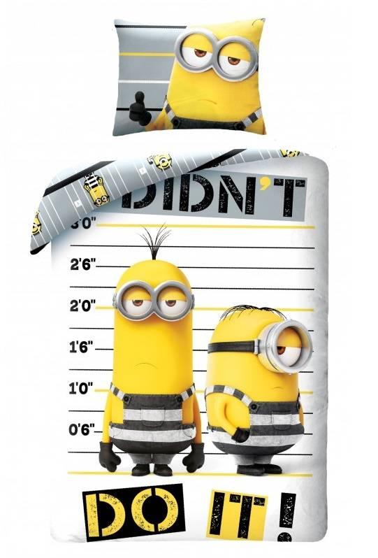 Dekbedovertrek Minions Cool