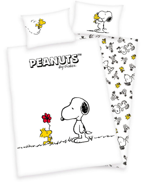 Dekbedovertrek Snoopy 100x135cm
