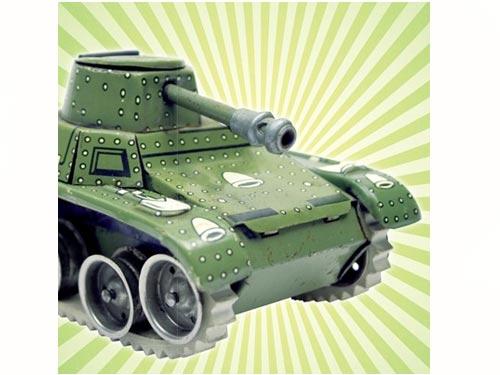 KidsLAB Canvas Legervoertuig