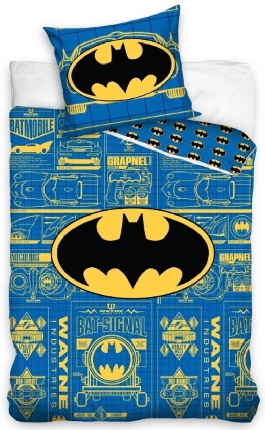 Batman Dekbedovertrek Logo