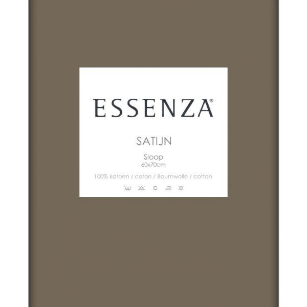 Essenza Kussensloop Satin Taupe (1 stuk)