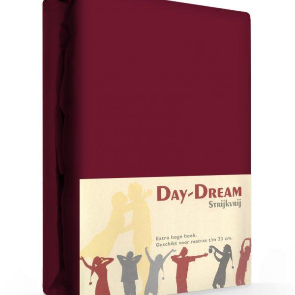 Day Dream Hoeslaken Katoen Aubergine 180 x 200 cm