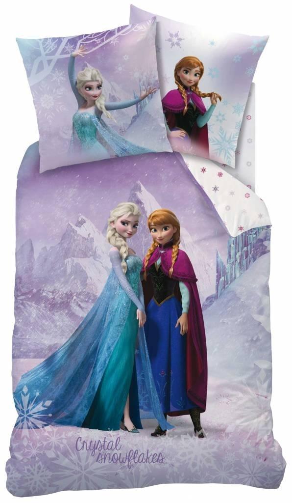 Frozen Dekbedovertrek Crystal Snowflakes