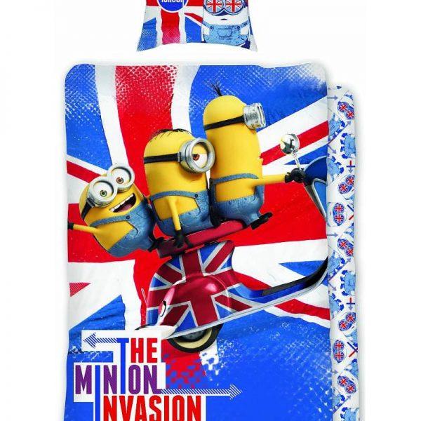 Minions Dekbedovertrek Hello Londen