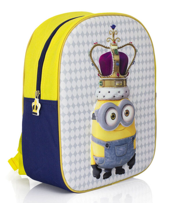 Rugzak Despicable Me Crown 3D 31x27x10cm