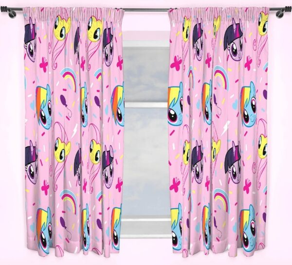 My Little Pony Gordijnen Set (2 stuks 168x183cm)