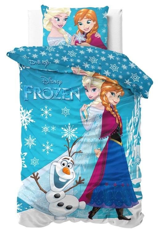 Disney Frozen Dekbedovertrek Zachtblauw