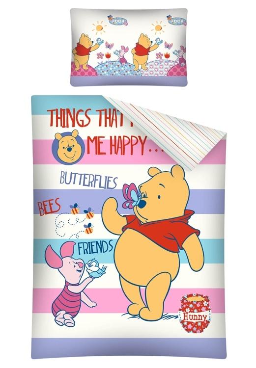Dekbed Winnie de Pooh en Knorretje