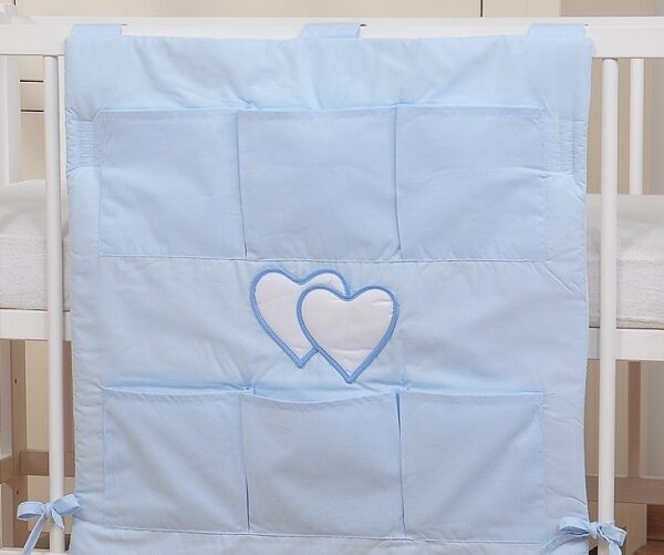 My Sweet Baby Opbergzak Two Hearts Blauw