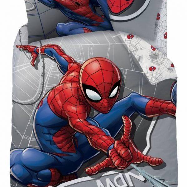 Flanellen Dekbedovertrek Spiderman New!