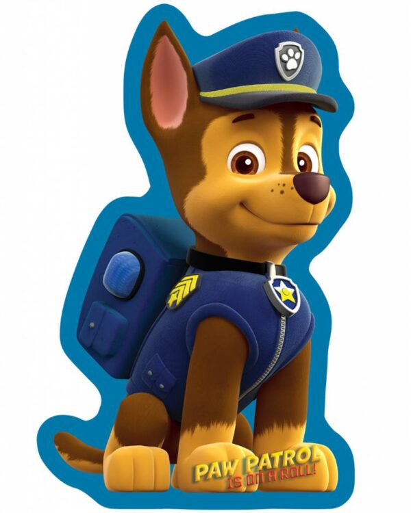 Paw Patrol Kussen Chase 36 x 22 x 5 cm