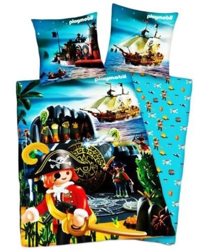 Playmobil Dekbedovertrek Schateiland Piraat