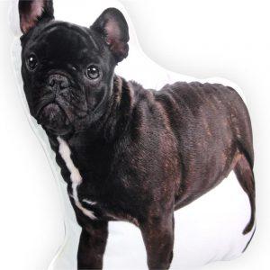 Intimo Sierkussen French Bulldog Black