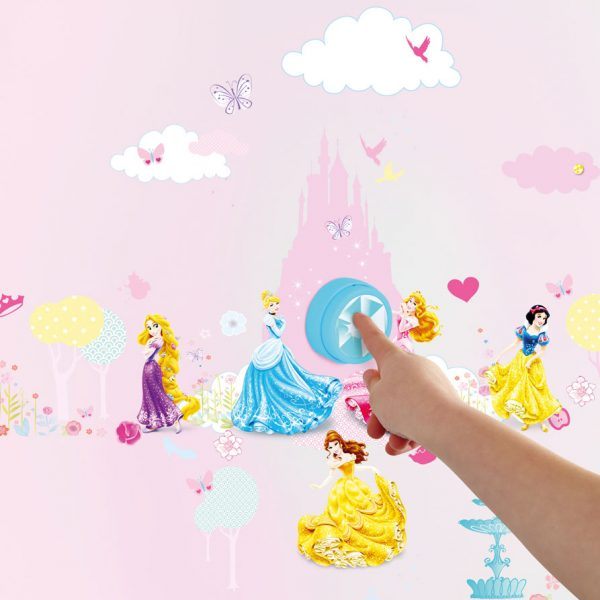 Disney Princess Deurbel met Stickers