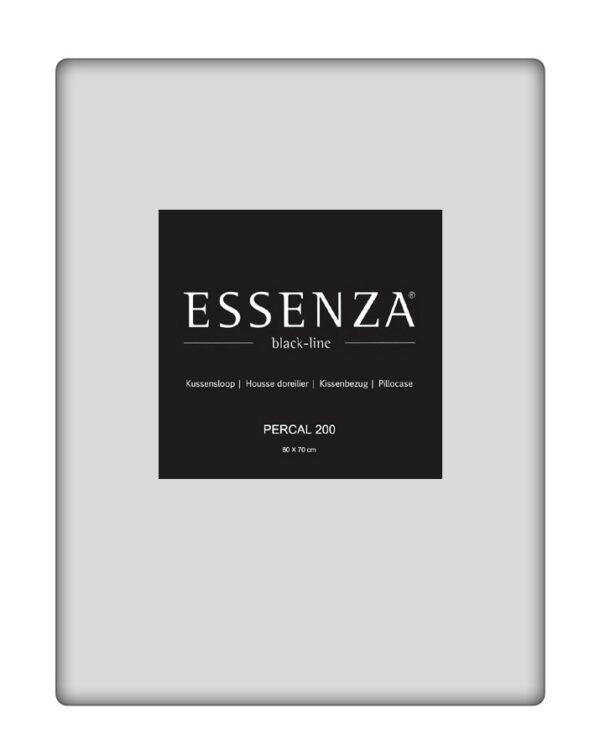 Essenza Kussensloop Percal Zilver (1 stuk)