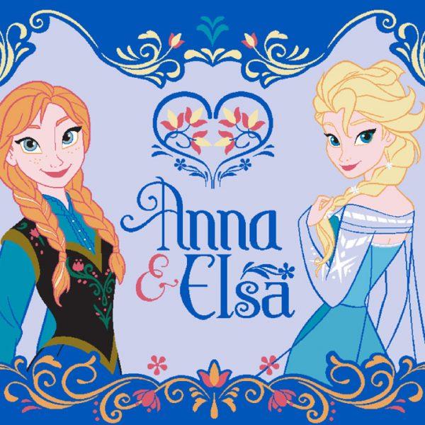 Frozen Vloerkleed Elsa & Anna