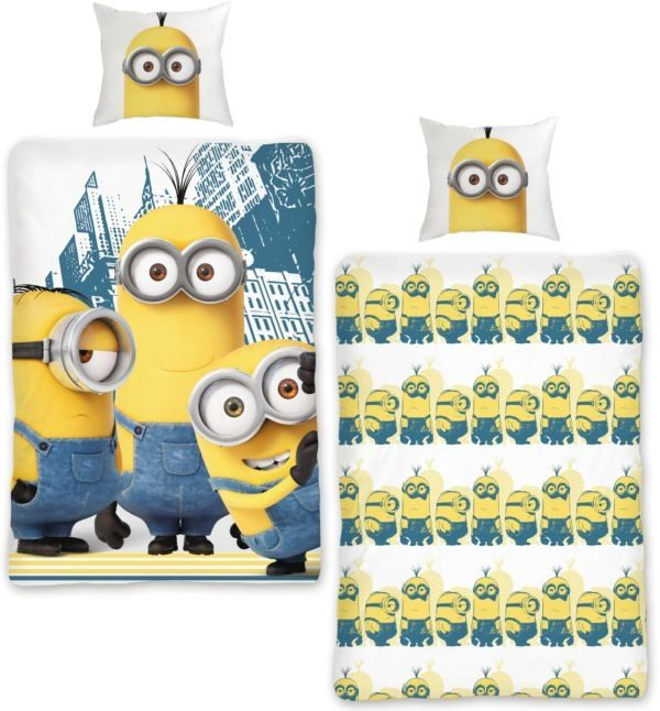 Minions Dekbedovertrek City New!