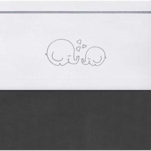 Jollein Laken 120x150cm Bubbles grey