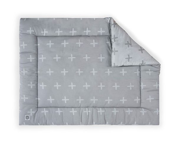 Jollein Boxkleed 80x100cm Plus grey