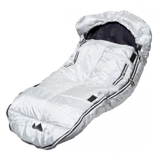 Jollein Comfortbag/Voetenzak Zilver 9-36mnd