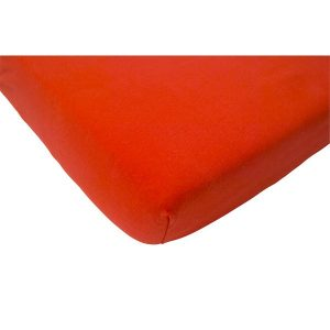 Jollein Hoeslaken jersey 60x120cm rood