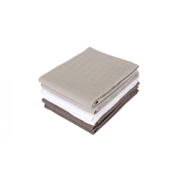 Jollein Hydrofiel luier grijs/antraciet/wit (6stuks)