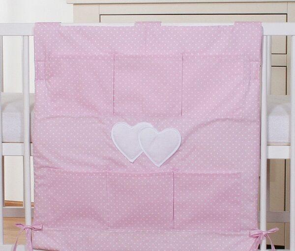 My Sweet Baby Opbergzak Two Hearts Dots/Roze