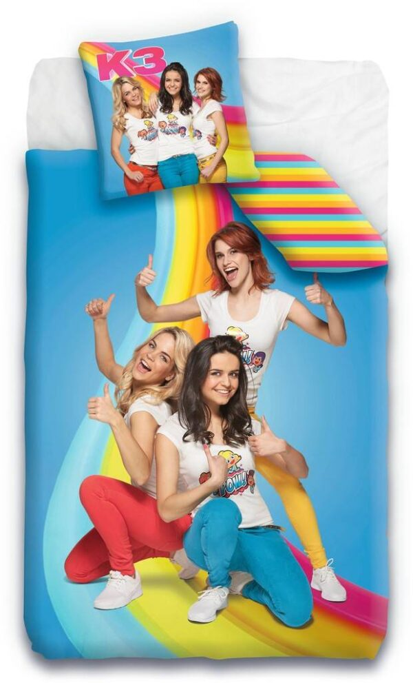 K3 Dekbedovertrek Rainbow