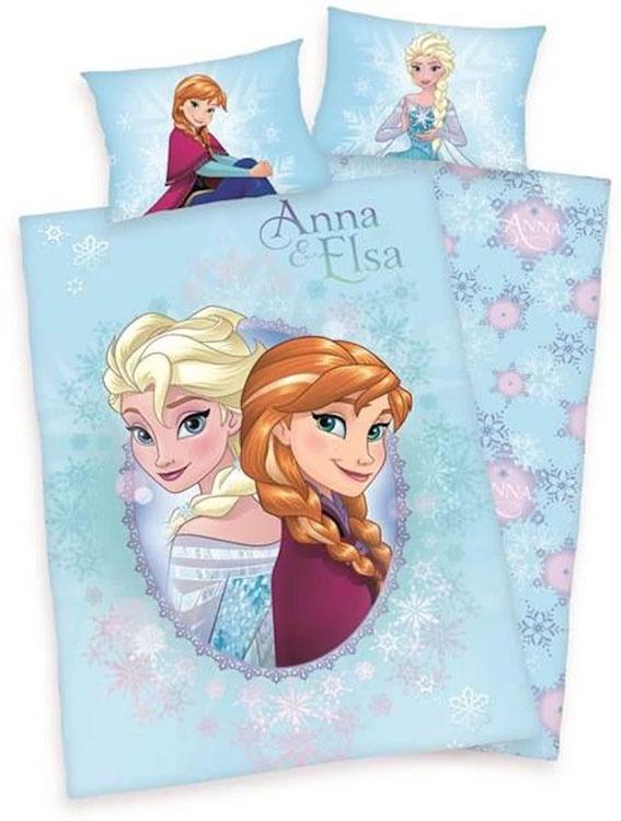 Peuter Dekbed Frozen Anna & Elsa
