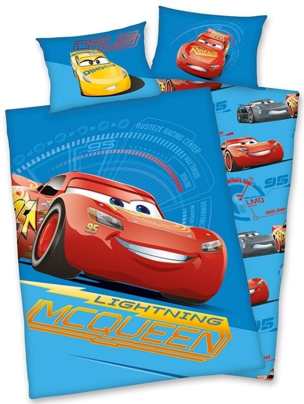 Cars 3 Peuter Dekbedovertrek Flanel